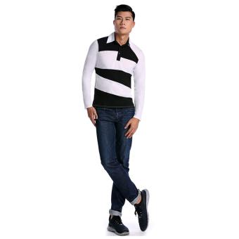 Cyber Long Sleeve Men T shirt (Black) - picture 2
