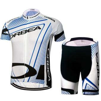 Cycling Bike Bicycle Short Sleeves Cycling Jersey - intl