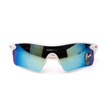 Cycling Outdoor Sport Mountain Bike MTB Bicycle Glasses Motorcycle Sunglasses Fishing Eyewear Men Women(White) - intl
