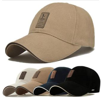 Dad Hat Baseball Cap Unconstructed Polo Style Adjustable Apricot -intl