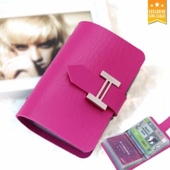 D&D Wallet Clutch Bags Female Card Holder Brand Pink