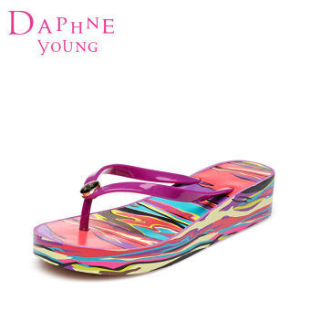 Daphne sweet semi-high heeled girl's sandals slippers (Mei 117)
