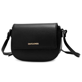 DAVIDJONES Genuine Leather Mini Crossbody Bag - 2