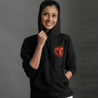 Diliman Republic UP Seal Ladies' Hoodie (Black)