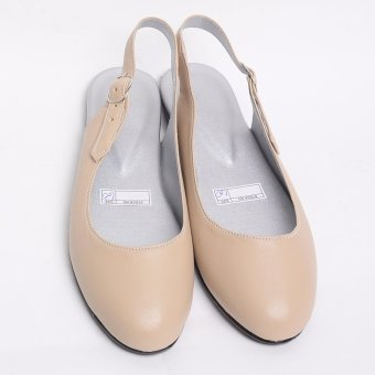 Doll me up Shoes Kelly's Flats Sling Back (Cream)