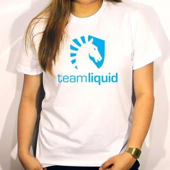 Dota2 Team Liquid T-Shirt (White)