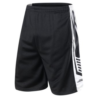 Dri-fit Men's Active Shorts Knee Breeches Curry Basketball BlackShorts With Pockets - intl