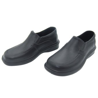 Duralite Sandals Bass Men Everyday Black Shoes Walking School Comfortable Work Rain Wear