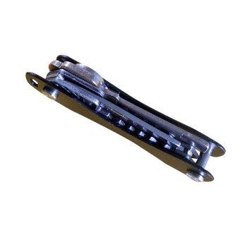 EDC Aluminum Hard Oxide Key Holder Clip Keys Organizer Folder Green