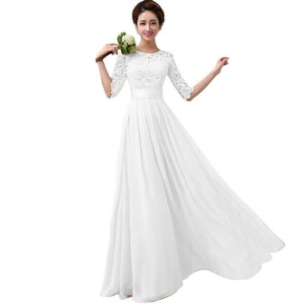 Elegant Women Long Dress Long Sleeve Ball Gown Formal Evening Party Cocktail Long Dress Price Philippines