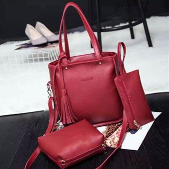 Elena 0013 Premium Bag Set (Red)