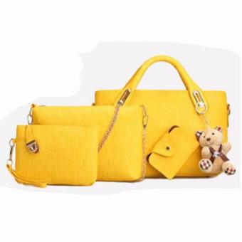 Elena 3203 Premium Bag Set (Yellow)