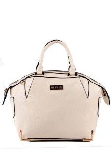 Elena 5952 Premium Bag Set (Cream) - 2