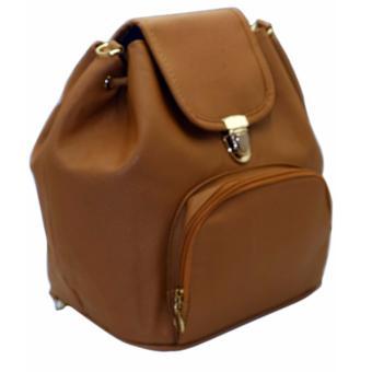 Elena 6128 Convertible Shoulder Bag/Backpack (Dark Grey) - 2