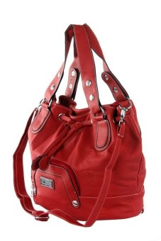 Elena F288-1 Shoulder Bag (Red)