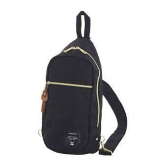 ( Elite ) Anello Sling Bag / Backpack / Unisex Sling Bag - Black