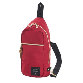 ( Elite ) Anello Sling Bag / Backpack / Unisex Sling Bag - Red