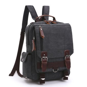 Elite Canvas Men Sling Bag / Laptop Backpack / Casual Backpack -Black Sling Backpack