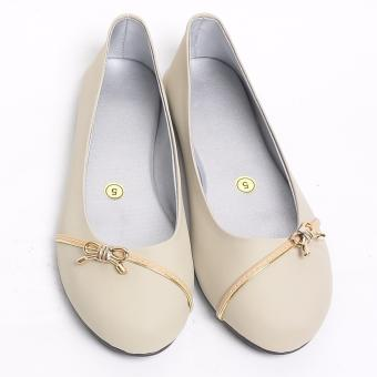 Emmy'S Simply Flat Shoes With Design (Bone) Price Philippines