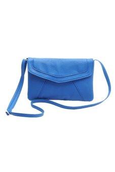 Envelope Satchel Shoulder Bag Handbag Blue