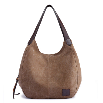 Environmentally friendly Portable Bag canvas women's bag (PARK'S color)