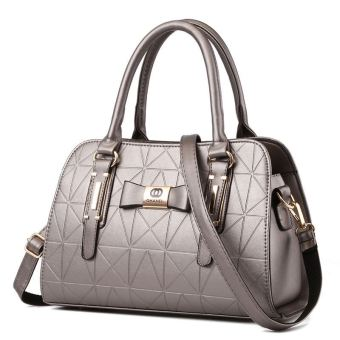 European and American female New Style women's bag (Silver)
