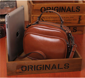 European and American New style small bag (Brown)
