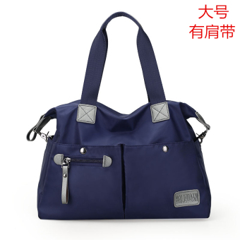 European and American women's mommy bag women's bag (Dark blue color)
