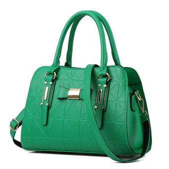 European Style Handbag Shoulder Bag(green ) Price Philippines