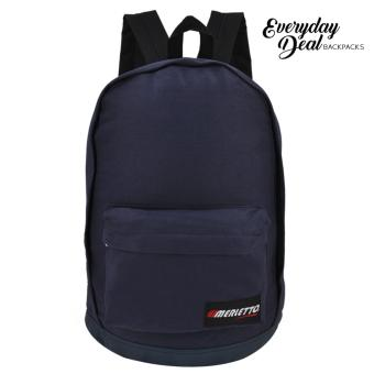 Everyday Deal Merletto Fashion School Backpack (Navy Blue)