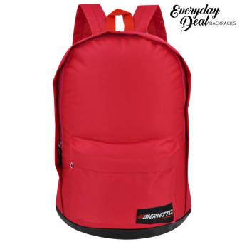 Everyday Deal Merletto Fashion School Backpack (Red) Price Philippines