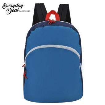 Everyday Deal Taylor Canvas Fashion Bag School Backpack (Navy Blue)