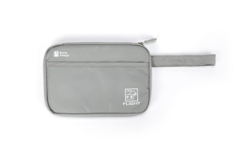Export travel passport bag (L + Upgrade paragraph gray)