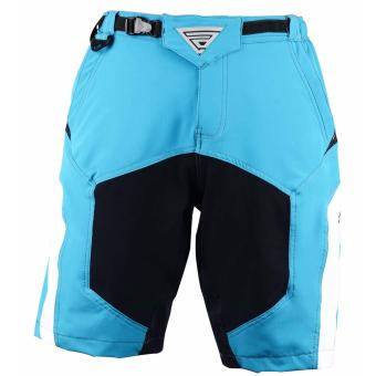 Extreme Assault Blaster 3 Multi Purpose Biking Short(L.Blue/Black/White) - 4