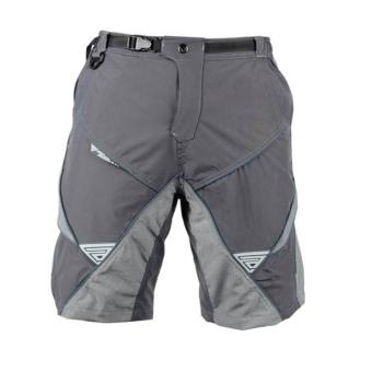 Extreme Assault Frag 1 Multi Puprpose Biking Short (Gray/Navy Blue)