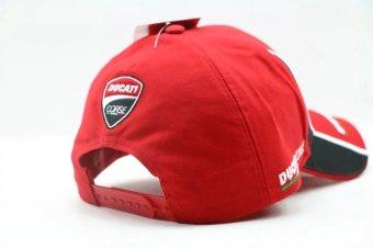 F1 car team hat moto gp motorcycle ducati baseball hat cap golfsunhat peak cap cricket cap (red) - intl - 3