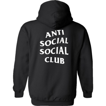 Fan Arena Anti Social Social Club (ASSC) Inspired Hoodie (Black)