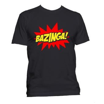 Fan Arena Big Bang Theory Inspired Bazinga T-shirt (Black) Price Philippines