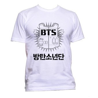 Fan Arena BTS Inspired T-shirt (White)