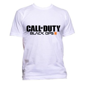 Fan Arena Call of Duty Black Ops III Inspired T-shirt (White)