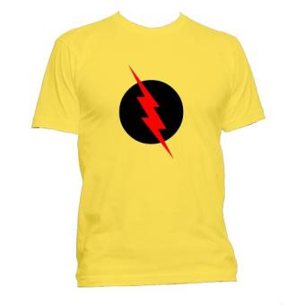 Fan Arena DC Comics Inspired Reverse Flash T- Shirt (Yellow)