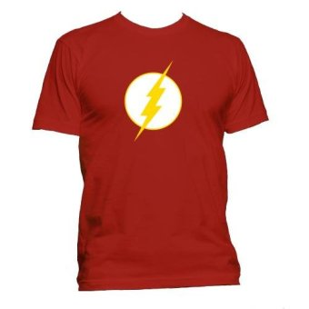 Fan Arena DC Comics Inspired The Flash T- Shirt (Red)