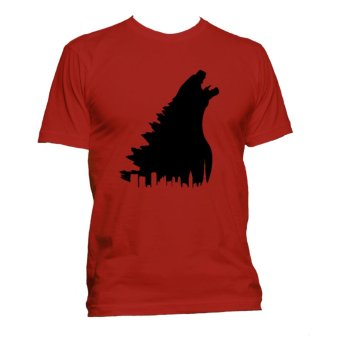 Fan Arena Godzilla Inspired T-shirt (Red) Price Philippines