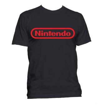 Fan Arena Nintendo Inspired Logo T-shirt (Black) Price Philippines