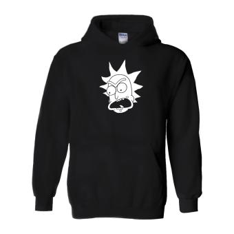 Fan Arena Rick And Morty Inspired Rick Sanchez Hoodie (Black)