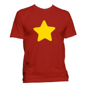 Fan Arena Steven Universe Inspired Star T-shirt (Red) Price Philippines