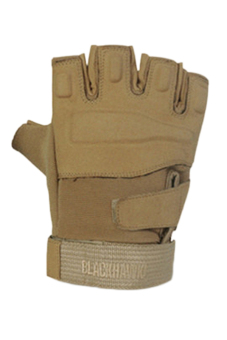 Fancyqube Army Full Finger Airsoft Combat Tactical Gloves (Brown)