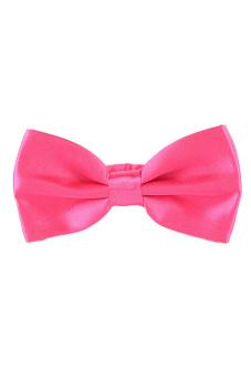 Fancyqube Tuxedo Marriage Butterfly Cravat New Men Bow Tie Pink