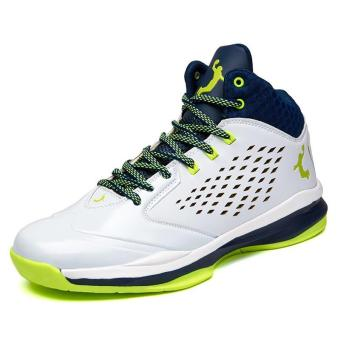 Fashion basketball Shoes men Casual Shoes Sneakers Sports Shoes(green) - intl