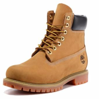 Fashion Boots For Timberland High Women's 10061 (Light Yellow) -intl - 4